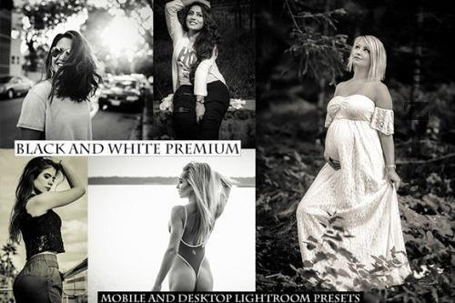 B&W Premium Lightroom Presets - 1039685