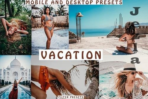 Warm Tones Mobile and Desktop Lightroom Presets - 1039923