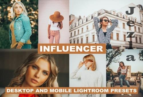 Lightroom Presets Infuencer Premium - instablogger and glamour presets