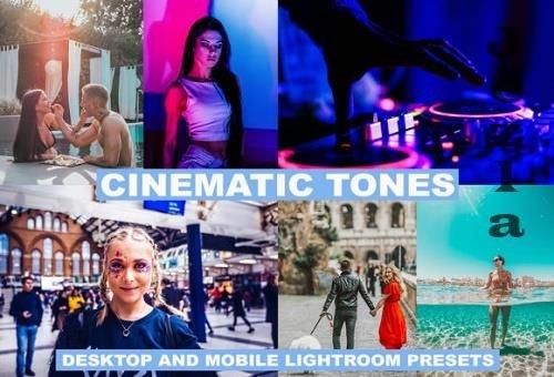 10 Lightroom Presets Cinematic Tones
