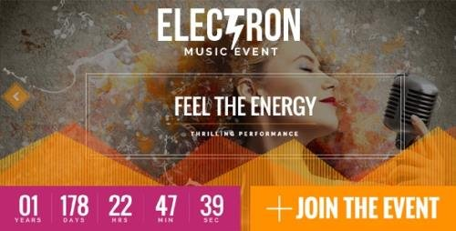 ThemeForest - Electron v1.6.0 - Event Concert & Conference Theme - 14865695