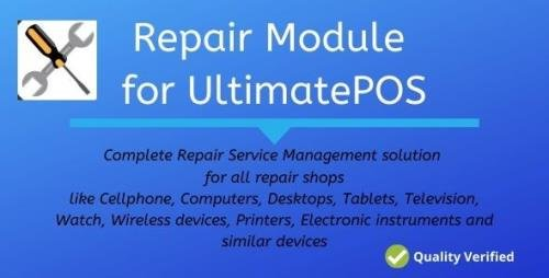 CodeCanyon - Advance Repair module for UltimatePOS v0.9 - 27547819 -