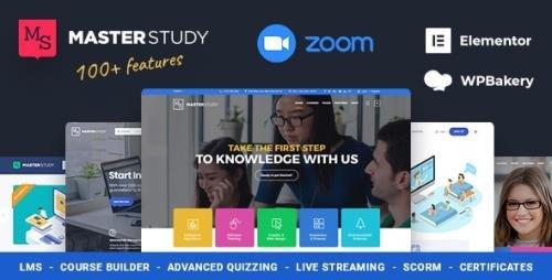 ThemeForest - Education WordPress Theme - Masterstudy v4.1.2 - 12170274 -