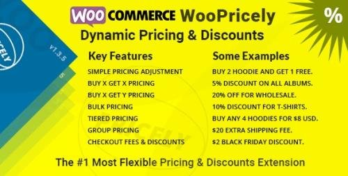 CodeCanyon - WooPricely v1.3.5 - Dynamic Pricing & Discounts - 23844181