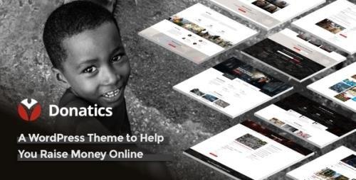 ThemeForest - Donatics v1.2.47 - Charity & Fundraising WordPress Theme - 23050797