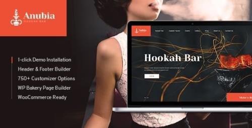 ThemeForest - Anubia v1.0.4 - Smoking and Hookah Bar WordPress Theme - 21451392
