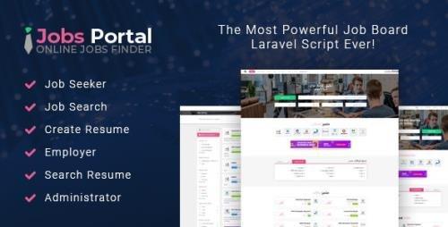 CodeCanyon - Jobs Portal v3.2 - Job Board Laravel Script - 22607607
