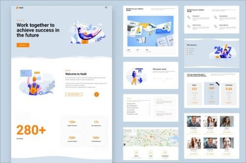 ThemeForest - Hade v1.0.0 - Business Elementor Template Kit - 29211302