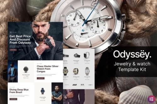 ThemeForest - Odyssey v1.0.0 - Jewelry & Watch WooCommerce Template Kit - 29501358