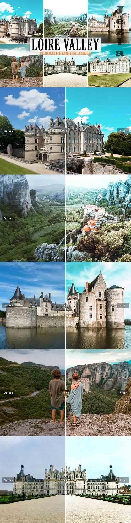 Loire Valley Pro Lightroom Presets - 5653989 - Mobile & Desktop