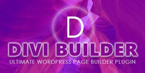 ElegantThemes - Divi Builder v4.7.4 - Ultimate WordPress Page Builder Plugin + Divi Layout Pack