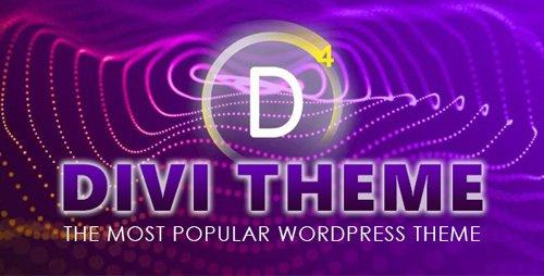 ElegantThemes - Divi v4.7.4 - WordPress Theme With Divi Builder + Divi Layout Pack