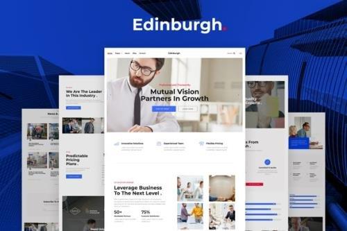 ThemeForest - Edinburgh v1.0 - Multipurpose Corporate Template Kit - 29470389