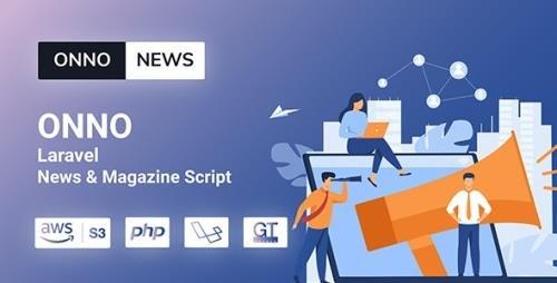 CodeCanyon - ONNO v1.0.2 - Laravel News & Magazine Script - 29030619