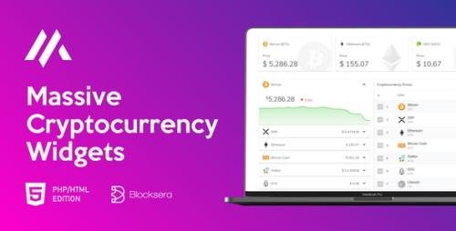 CodeCanyon - Massive Cryptocurrency Widgets v1.3.1 - PHP/HTML Edition - 23098271