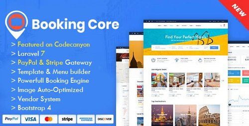 CodeCanyon - Booking Core v1.8.2 - Ultimate Booking System - 24043972