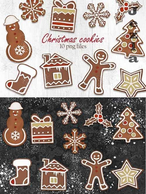 Christmas Cookies Clipart - 5658054