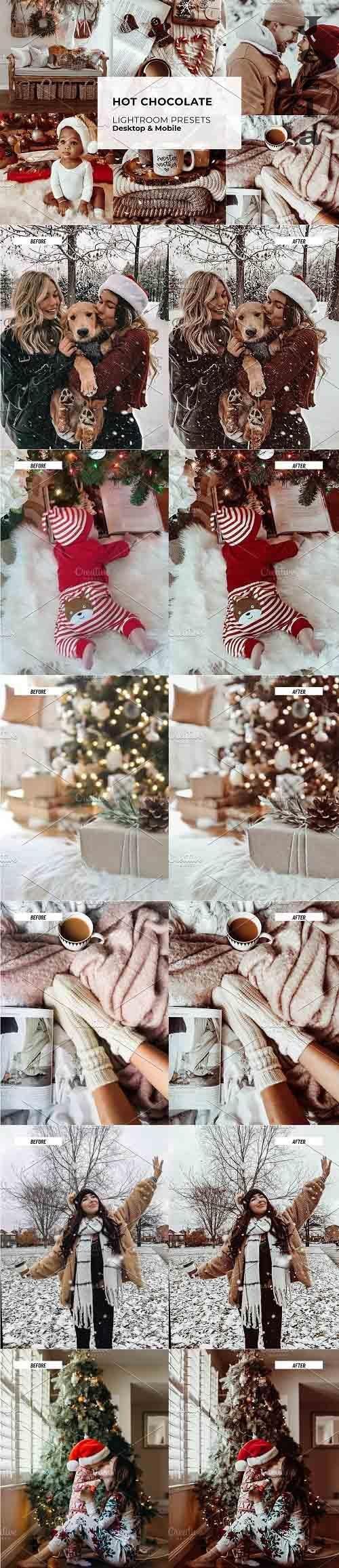 CreativeMarket - Christmas Hot Chocolate LR Presets 5642298