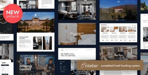 ThemeForest - Hoteller v5.0 - Booking WordPress Theme - 22316029 - NULLED