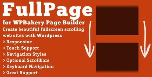 CodeCanyon - FullPage for WPBakery Page Builder v2.1.3 - 13112364 - NULLED