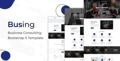 ThemeForest - Busing v1.0.1 - Business Consulting Bootstrap 5 Template - 29504782