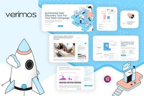 ThemeForest - Verimos v1.0.0 - Tech Startup & Digital Company Template Kit - 29543553