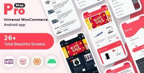 CodeCanyon - ProShop v10.0 - WooCommerce Multipurpose E-commerce Android Full Mobile App + kotlin - 27338838