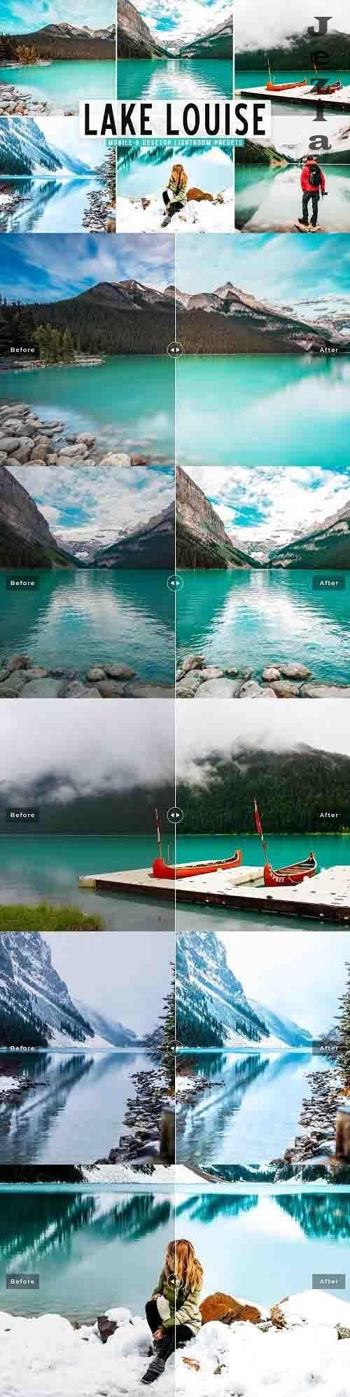 Lake Louise Pro Lightroom Presets - 5665804 - Mobile & Desktop