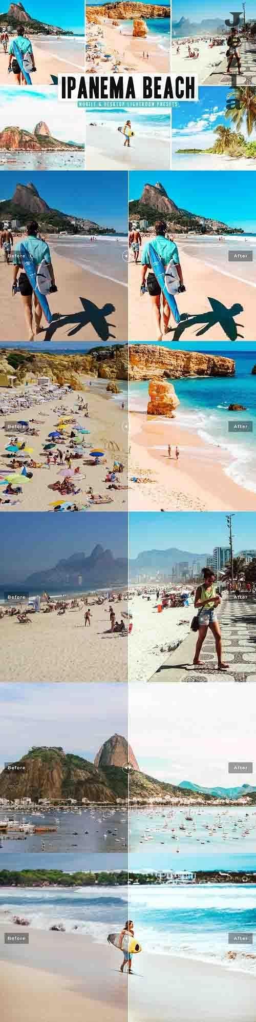 Ipanema Beach Pro Lightroom Presets - 5665929 - Mobile & Desktop