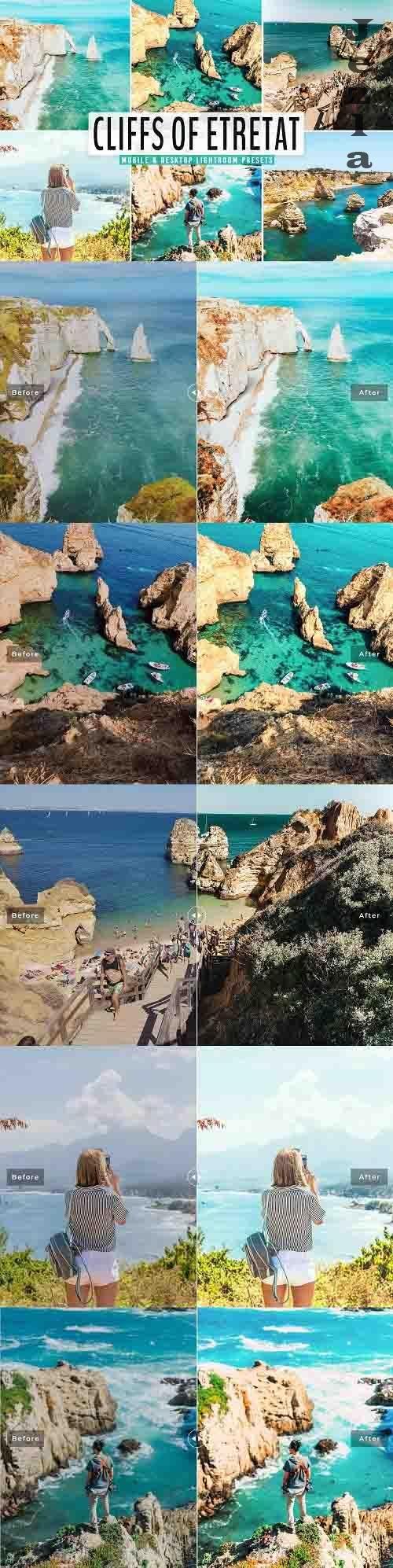 Cliffs of Etretat Lightroom Presets - 5666378 - Mobile & Desktop