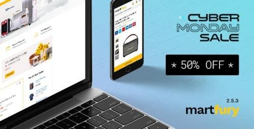 ThemeForest - Martfury v2.5.4 - WooCommerce Marketplace WordPress Theme - 21273233