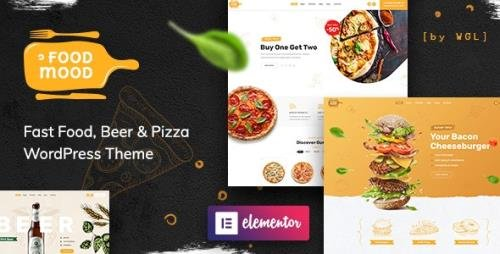 ThemeForest - Foodmood v1.1.2 - Cafe & Delivery WordPress Theme - 24702614 -
