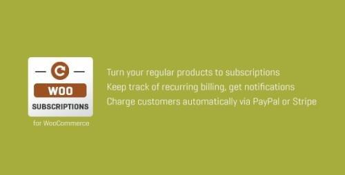 CodeCanyon - Subscriptio v3.0.6 - WooCommerce Subscriptions - 8754068