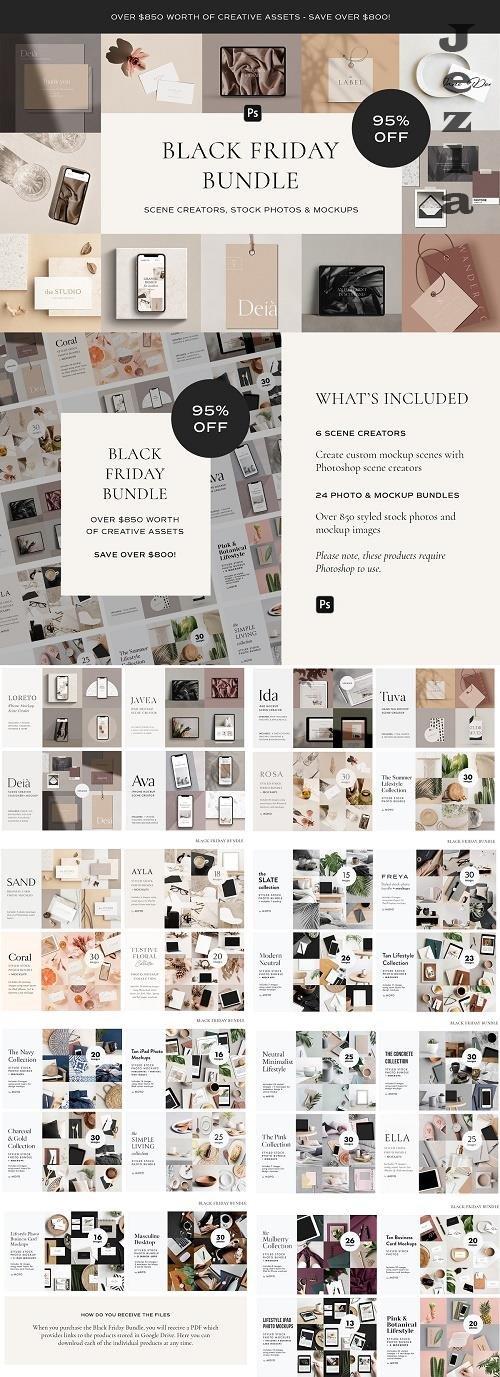 CreativeMarket - Black Friday Bundle 5596062