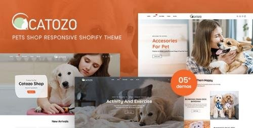 ThemeForest - Catozo v1.0.0 - Pets Shop Responsive Shopify Theme - 29274975