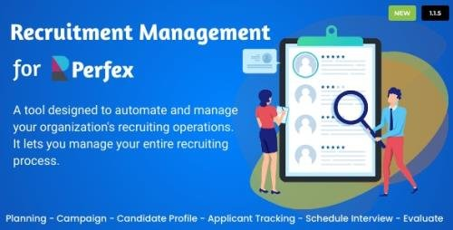 CodeCanyon - Recruitment Management for Perfex CRM v1.0 (Update: 27 June 20) - 27260667