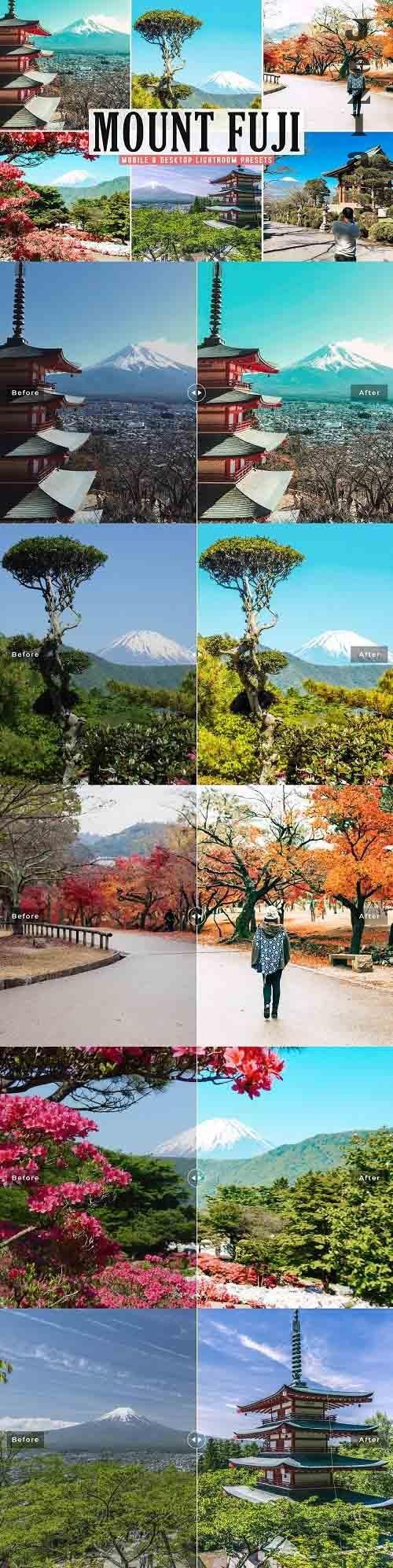 Mount Fuji Pro Lightroom Presets - 5669227 - Mobile & Desktop