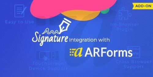 CodeCanyon - Signature Addon for Arforms v2.0 - 11038990
