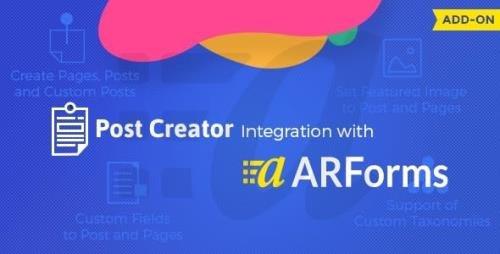 CodeCanyon - Post Creator for ARForms v1.5 - 21444606