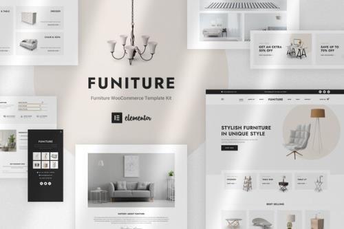 ThemeForest - Funiture v1.0.0 - Furniture Shop WooCommerce Elementor Template Kit - 29586366
