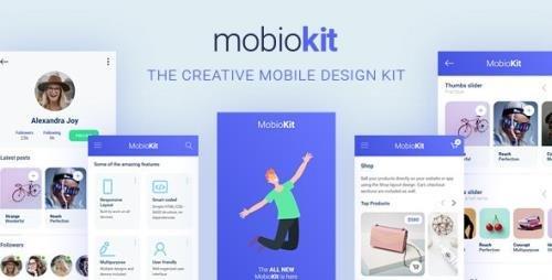 ThemeForest - Mobiokit v1.0 - HTML Mobile UI Kit - 29489518