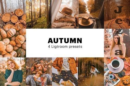 CreativeMarket - 4 Autumn Lightroom Presets 5627655