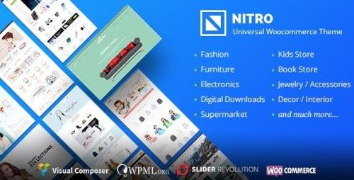 ThemeForest - Nitro v1.7.8 - Universal WooCommerce Theme from ecommerce experts - 15761106 -