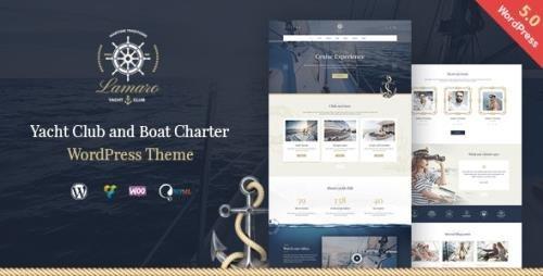 ThemeForest - Lamaro v1.2.3 - Yacht Club and Rental Boat Service WordPress Theme - 23080232