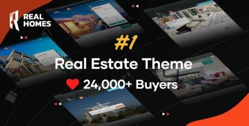 ThemeForest - RealHomes v3.12.0 - Estate Sale and Rental WordPress Theme - 5373914 - NULLED