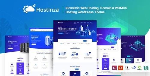 ThemeForest - Hostinza v2.6 - Isometric Domain & Whmcs Web Hosting WordPress Theme - 22404212