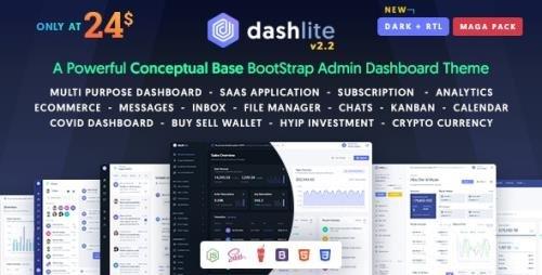ThemeForest - DashLite v2.2.0 - Bootstrap Responsive Admin Dashboard Template - 25780042