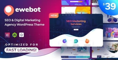 ThemeForest - Ewebot v2.2.3 - SEO Marketing & Digital Agency - 24776025 - NULLED