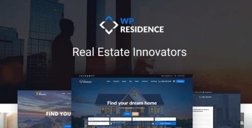 ThemeForest - WP Residence v3.5.0 - Residence Real Estate WordPress Theme - 7896392 - NULLED