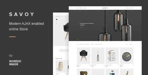 ThemeForest - Savoy v2.5 - Minimalist AJAX WooCommerce Theme - 12537825